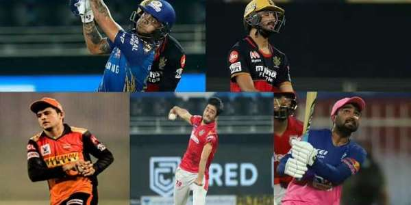 Young Stars of IPL Cricket Teams and Their performances in IPL 2020